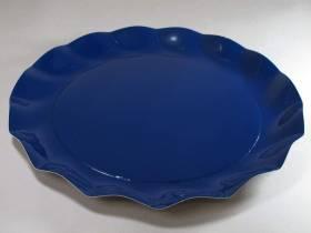 Assiette carton - Bleu Nuit 32,4cm
