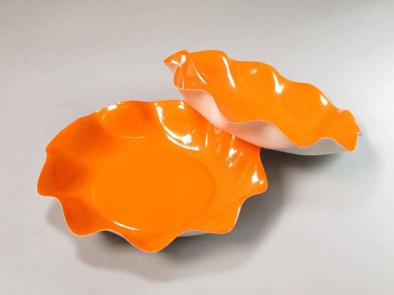 Coupelle carton - Orange