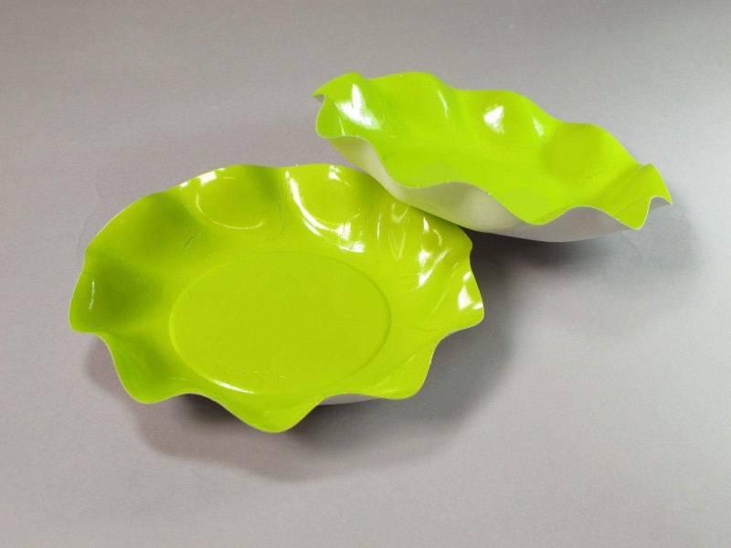 Coupelle carton - Vert Citron