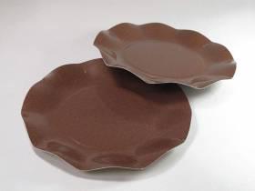 Assiette carton - Chocolat 21cm
