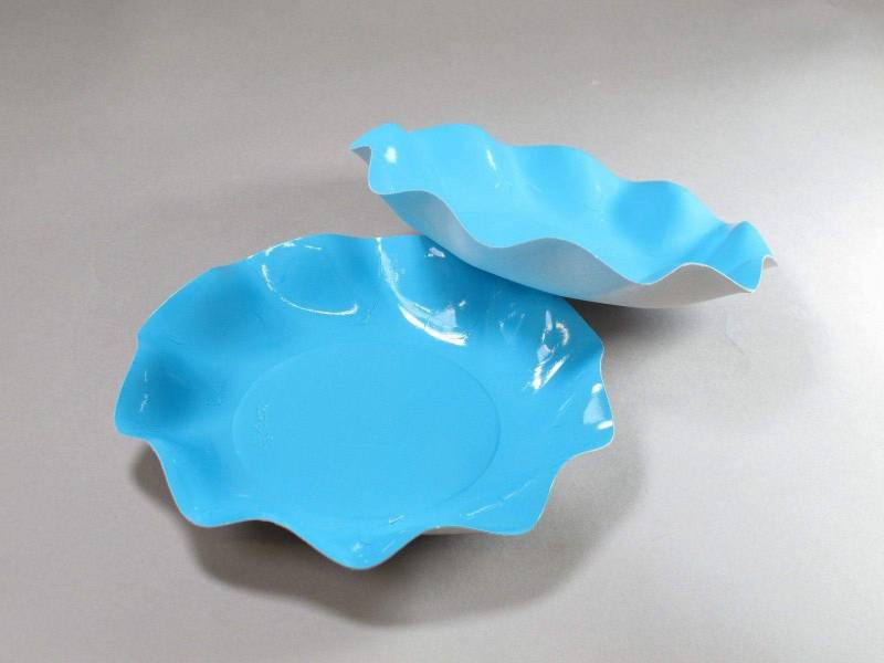 Coupelle carton - Turquoise