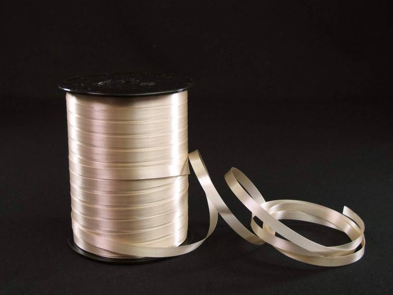 Bolduc standard lisse couleur Ecru - 7mmx500m