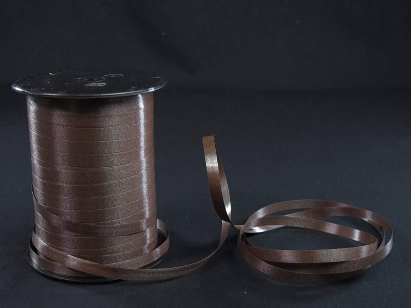 Bolduc standard lisse couleur Chocolat - 7mmx500m