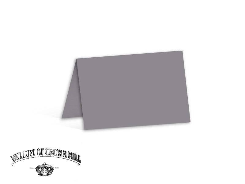 Carte double velin format 17x23cm - Schiste