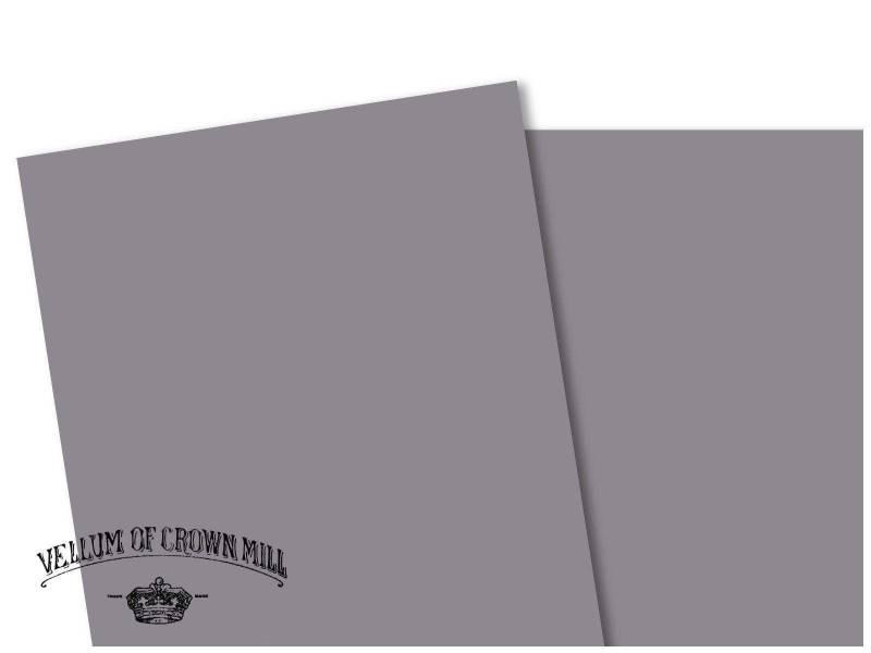 Carte velin format A4 - Schiste