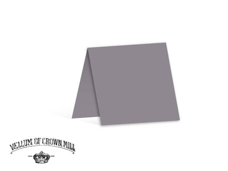 Carte double velin format 13,5x27cm - Schiste