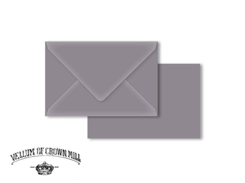 Enveloppe velin format 12x18cm - Schiste