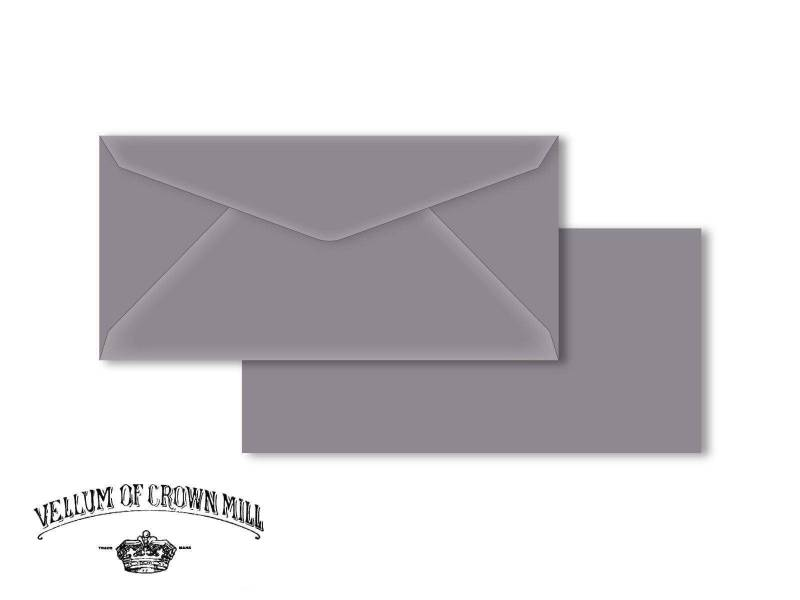Enveloppe velin format DL - Schiste