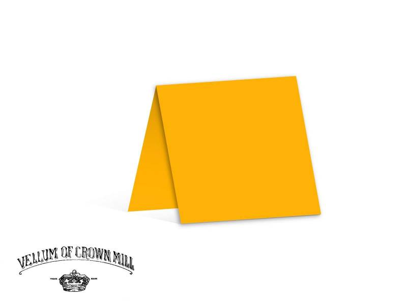 Carte double velin format 13,5x27cm - Mangue