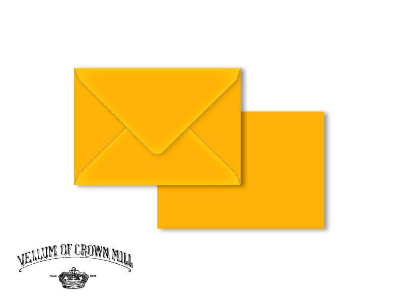 Enveloppe velin format 12x18cm - Mangue