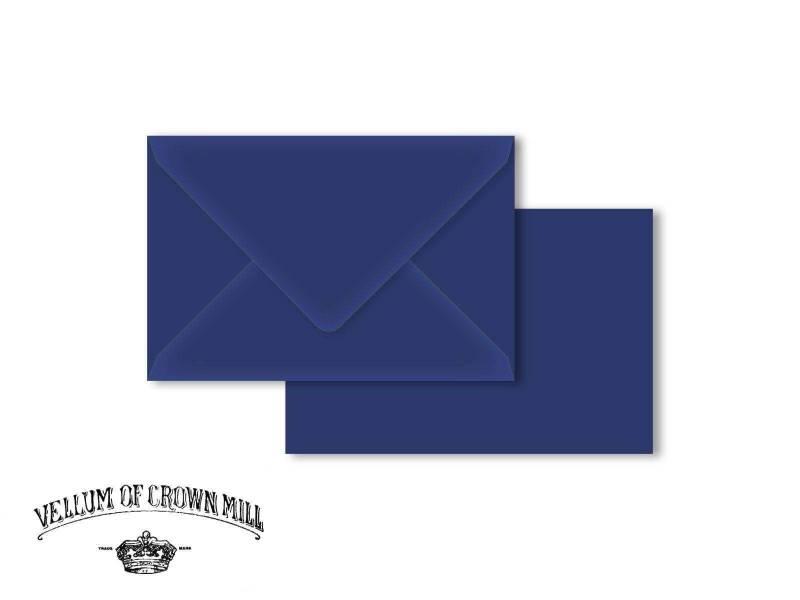 Enveloppe velin format 12x18cm - Abysse