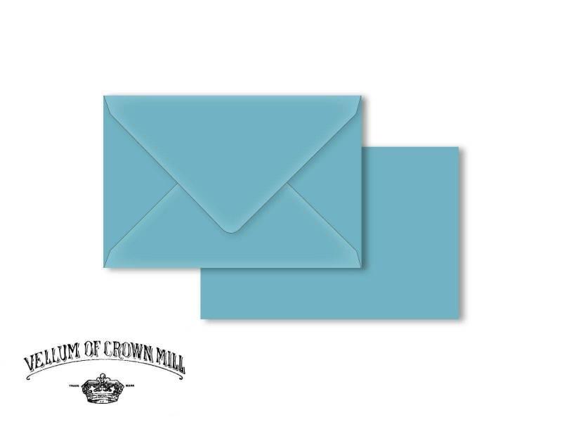 Enveloppe velin format 12x18cm - Arctique