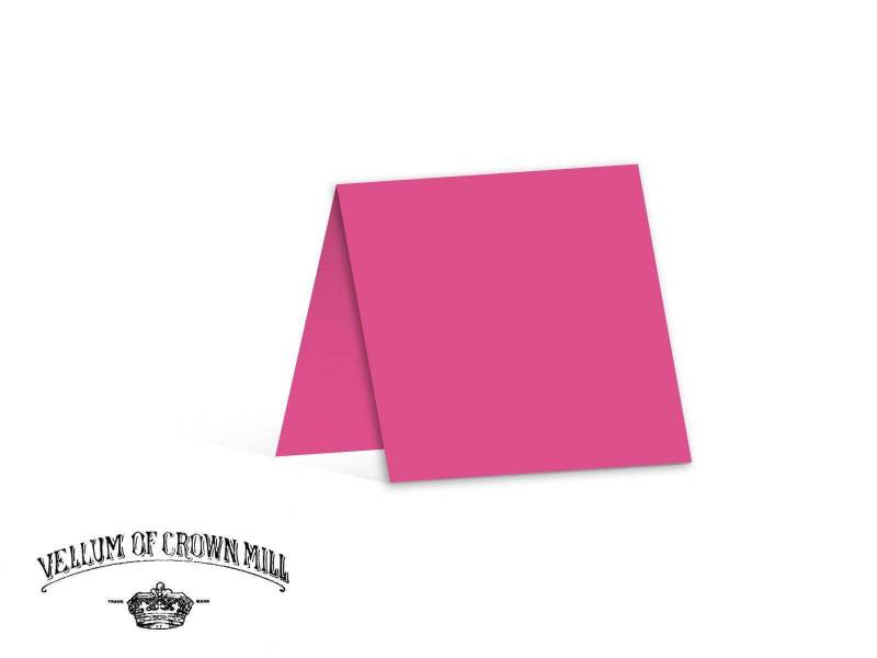 Carte double velin format 13,5x27cm - Bougainvillée