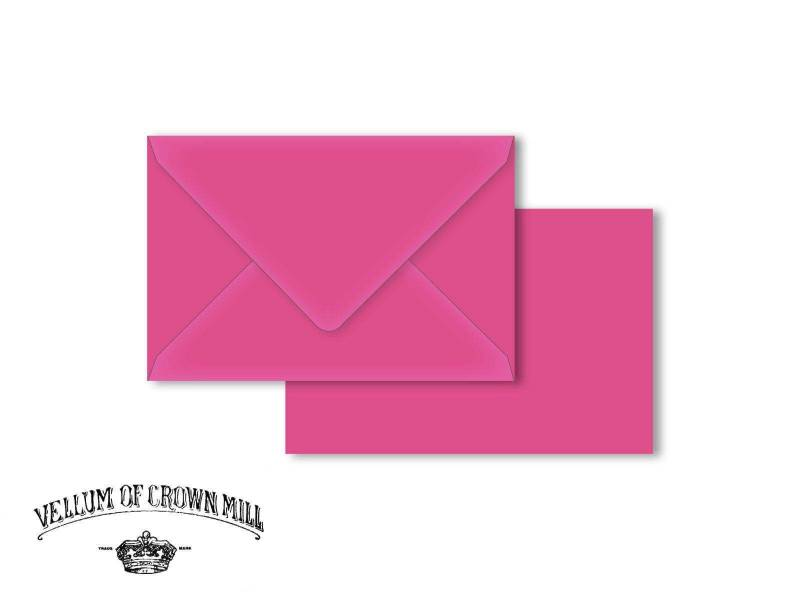 Enveloppe velin format 12x18cm - Bougainvillée