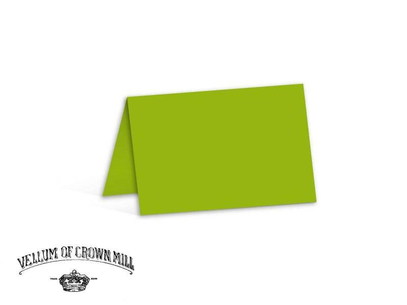Carte double velin format 17x23cm - Bambou