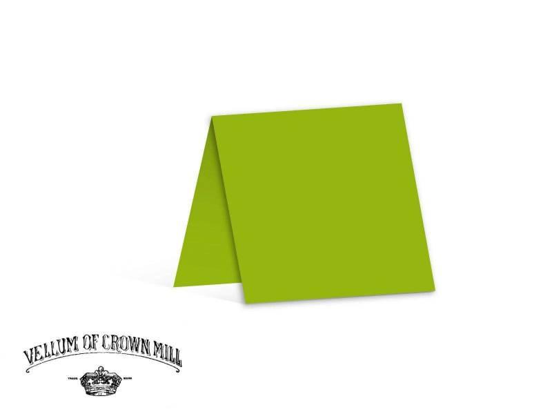Carte double velin format 13,5x27cm - Bambou