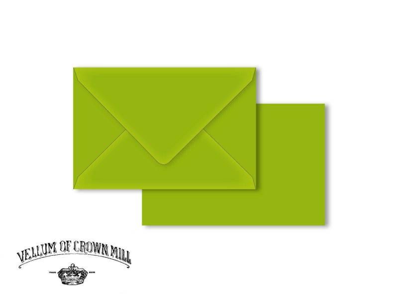 Enveloppe velin format 12x18cm - Bambou