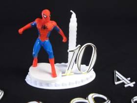 Bougie Anniversaire Spider Man