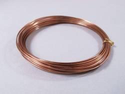 Fil Aluminium décoratif pour bijoux 1mm - Brun
