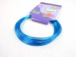 Fil alu Ø1mmx10m - Turquoise
