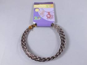 Fil alu diamant pour Création Bijoux 5m - Chocolat