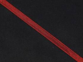 Ruban organza 5mm - Rouge