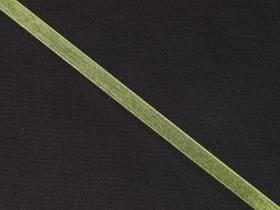 Ruban organza 5mm - Vert Pomme