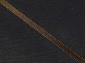 Ruban organza 5mm - Chocolat