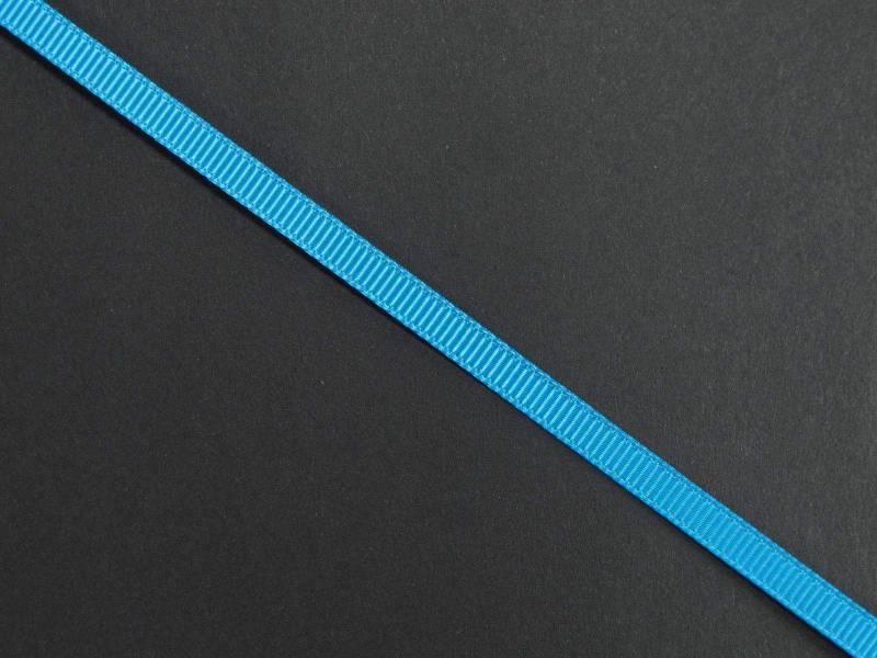 Ruban gros grain 0,5cm - Turquoise