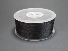 Ruban gros grain 0,5cm - Noir