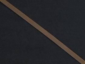 Ruban gros grain 0,5cm - Chocolat