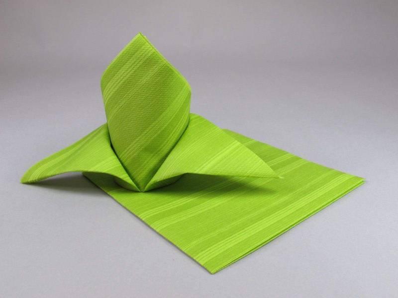 Serviette de table papier motif soul - Anis