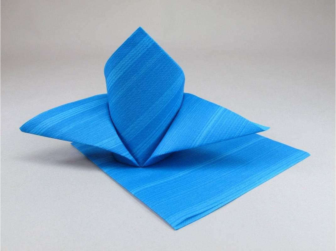 serviette de table papier motif soul bleu decofete. Black Bedroom Furniture Sets. Home Design Ideas