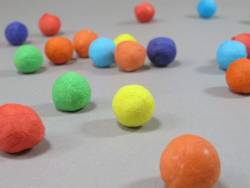 50 Boule de sarbacane - Multicolore