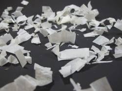 Petit Canon à confettis - Blanc