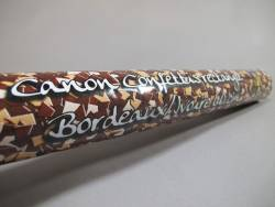 Grand Canon à confettis - Bordeaux Ivoire