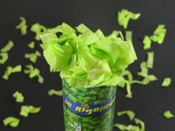 Petit Canon à confettis - Vert Tilleul