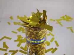 Petit Canon à confettis - Rectangle or