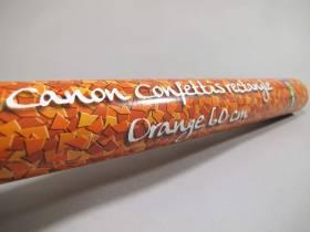 Grand Canon à confettis - Orange