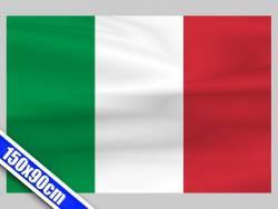 Grand drapeau de Supporter d'Italie de 1,5m