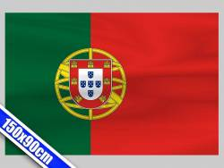 Grand drapeau de Supporter du Portugal de 1,5m