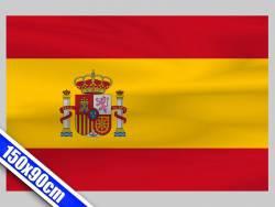 Grand drapeau de Supporter d'Espagne de 1,5m