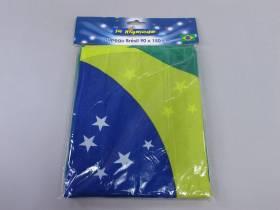 Grand drapeau de Supporter du Brésil de 1,5m