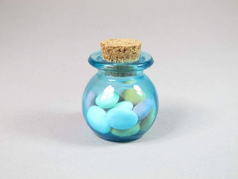 Pot boule - Turquoise