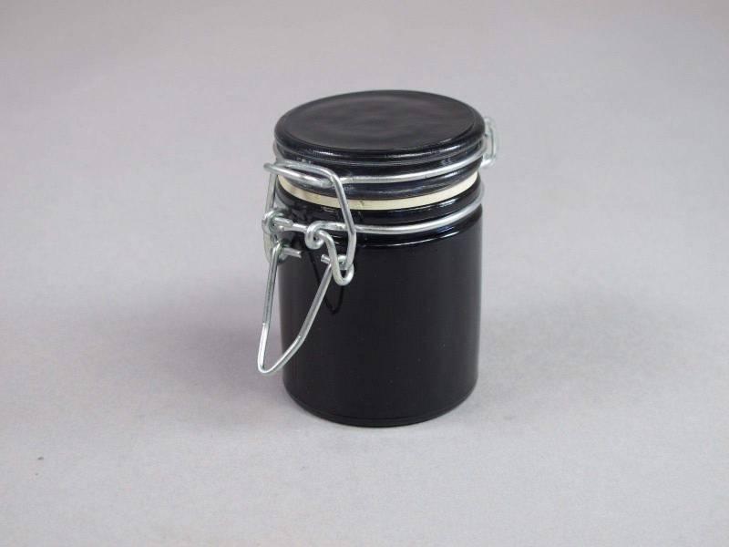 Pot rond - Noir