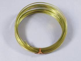 Fil Aluminium décoratif pour bijoux 2mmx12m - Vert Olive