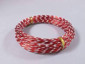 Fil alu diamant pour Création Bijoux 10m - Rouge