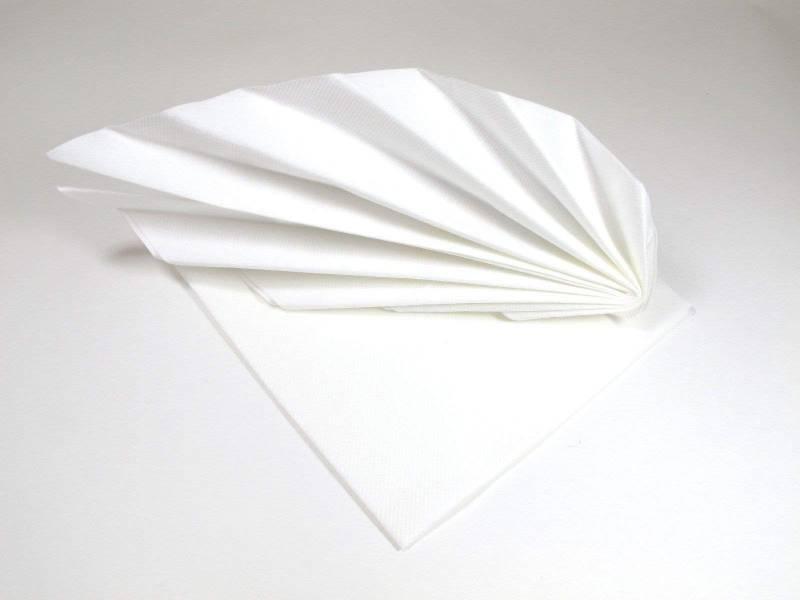 Serviette voie sèche gala - Blanc