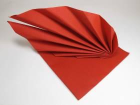 Serviette voie sèche gala - Rouge