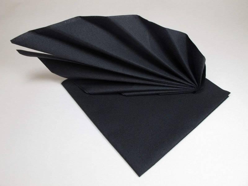 Serviette voie sèche gala - Noir